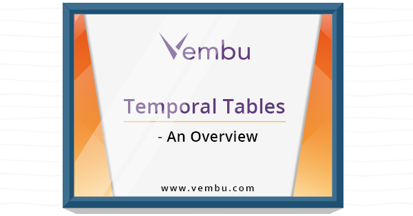 Temporal table