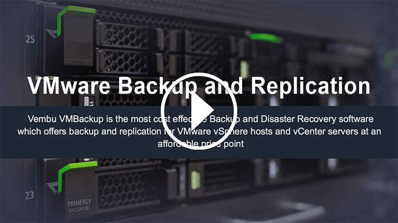 VMware Backup & Replication