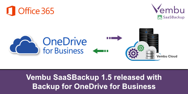 Vembu SaaSBackup released