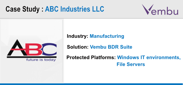 ABC Industries LLC Case study