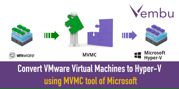 How to convert VMware to Hyper-V using MVMC tool - vembu
