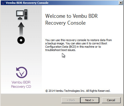 Recover entire disk or a Partition