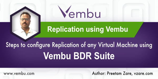Replication using Vembu