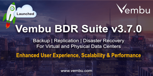 Vembu BDR Suite Launched