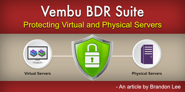 Protecting Virtual and Physical Servers