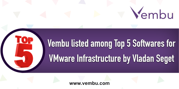 Top 5 Backup software for VMware Infrastructure