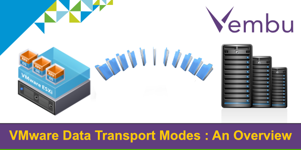 VMware transport mode