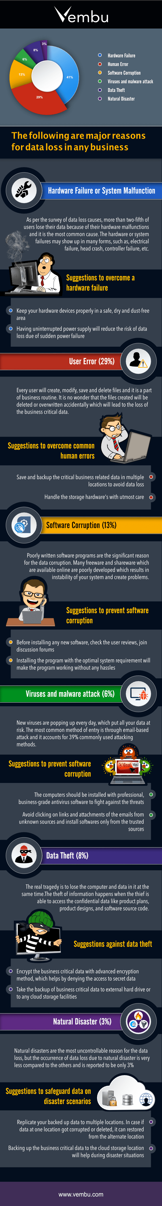 Data Loss Infographic
