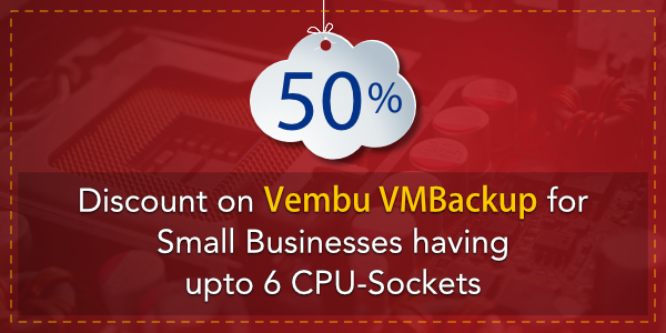 Vembu VM Backup Discount