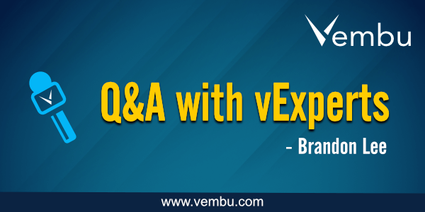 Q&A with vExperts