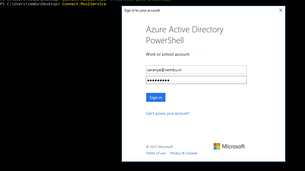 How to Connect to Office 365 Services with PowerShell