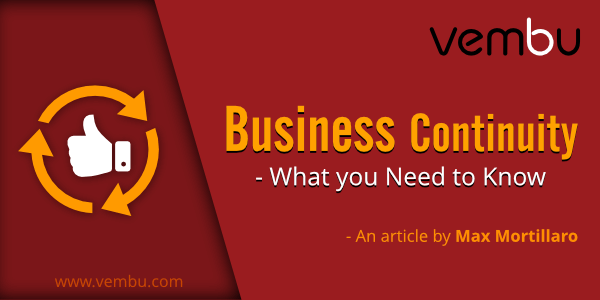 Vembu - Business Continuity