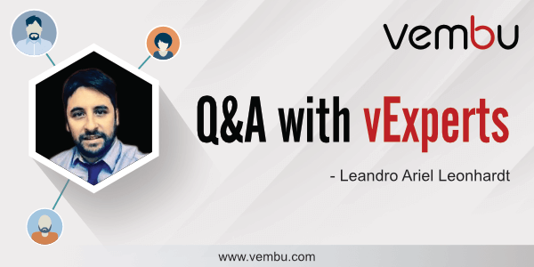 Vembu Q&A with vExperts