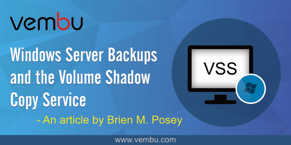 Windows Server Backups