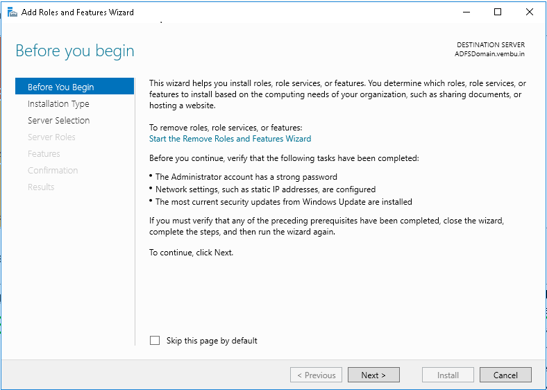 How To Install ADFS 2016 For Office 365 - vembu com