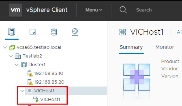 An Overview of Installing VMware vSphere Integrated