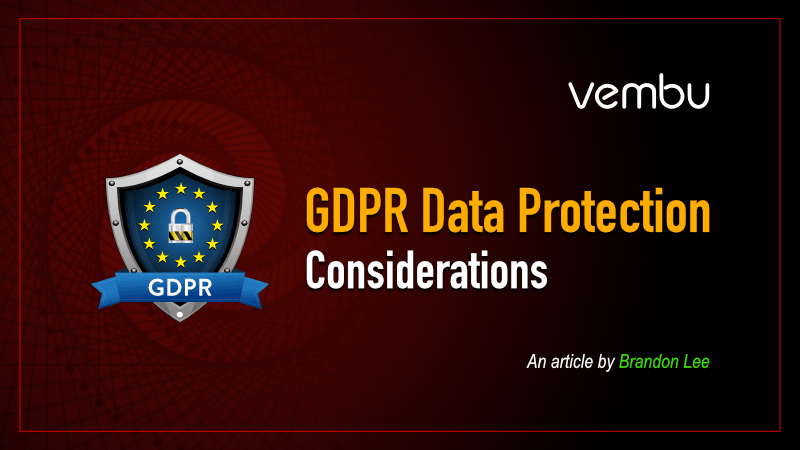 GDPR-Data-Protection-Considerations