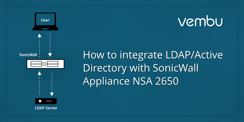 How to Integrate LDAP / Active Directory with SonicWall
