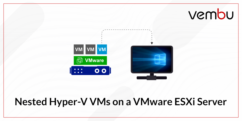 Nested Hyper-V VMs on a VMware ESXi Server
