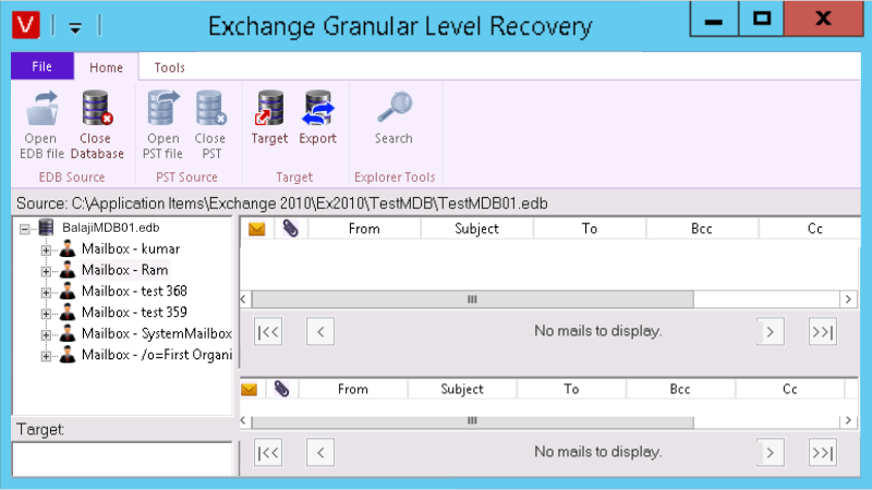 Exchange Backup