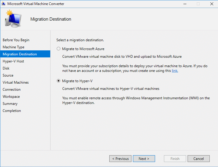 Convert VMware Virtual Machine to Hyper-V : A complete guide