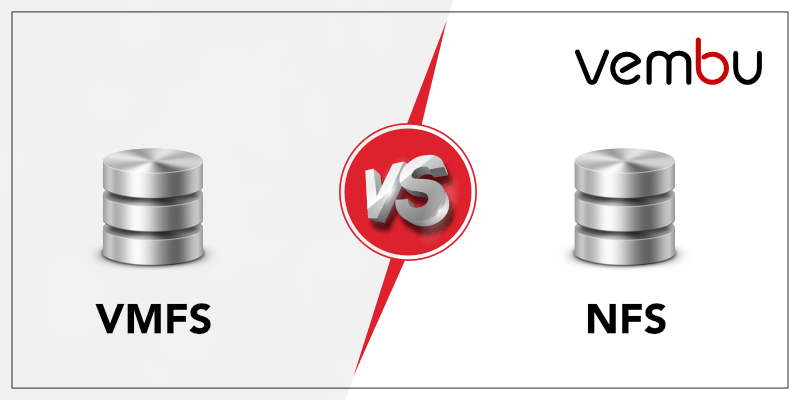 Difference between VMware VMFS and NFS datastores