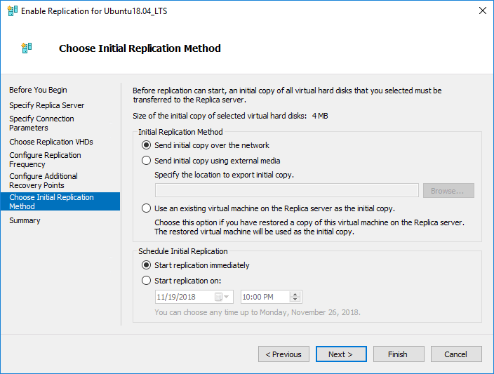 Hyper-V-replication