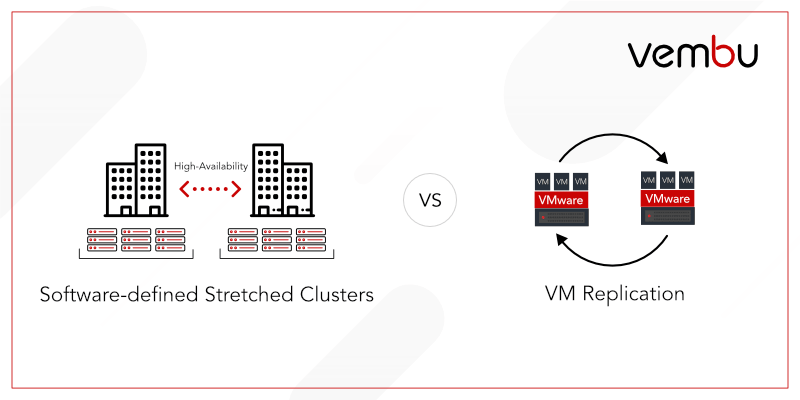 Software-defined Stretched Clusters vs VM Replication