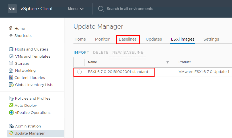 VMware vSphere 6 7 Update 1 Upgrade and Security Configuration