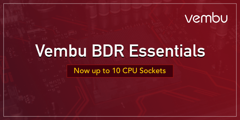 Vembu BDR Essentials