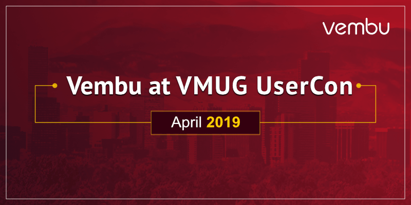 Vembu at VMUG UserCon