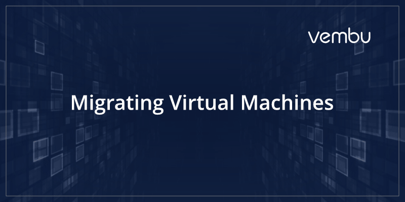 How to migrate virtual machines