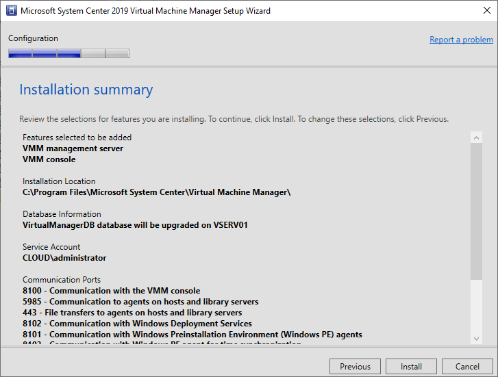 Virtual Machine Manager installation