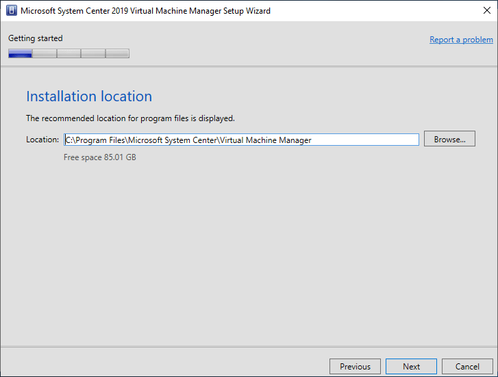 System Center 2019 Virtual Machine Manager