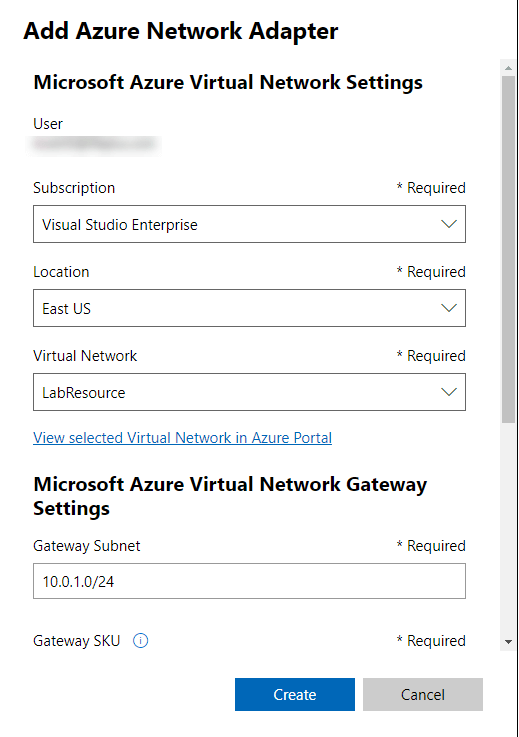 azure-network-adapter