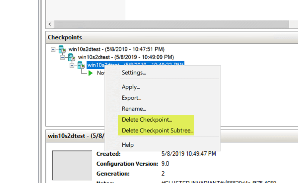 How to merge Hyper-V Checkpoints and why - A complete guide