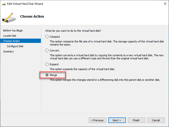 How to Merge Hyper-V Checkpoints using Hyper-V Manager and Powershell