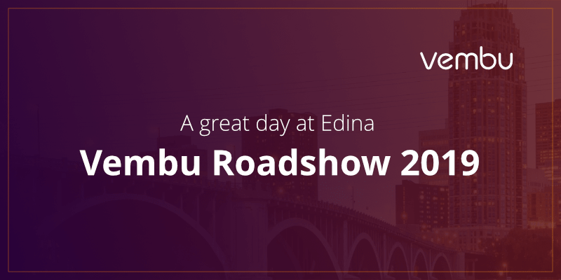A great day at Edina-Vembu Roadshow