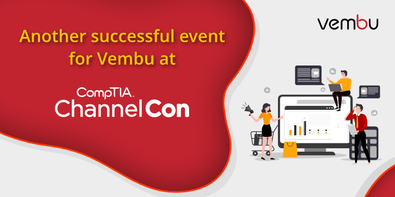 Another successful event for Vembu at CompTIA ChannelCon