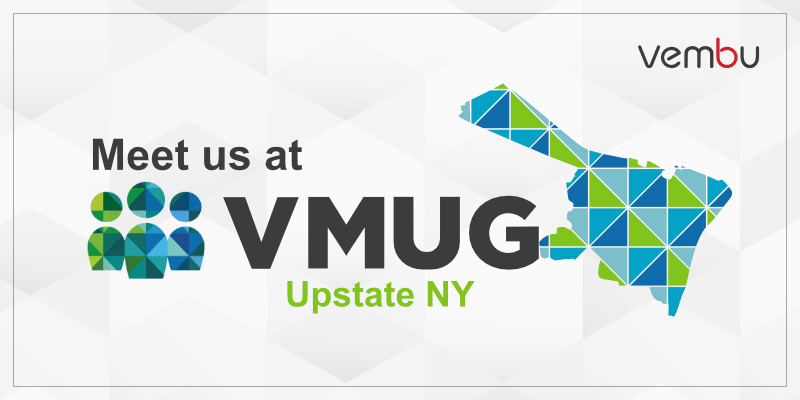 Meet us at VMUG Upstate NY