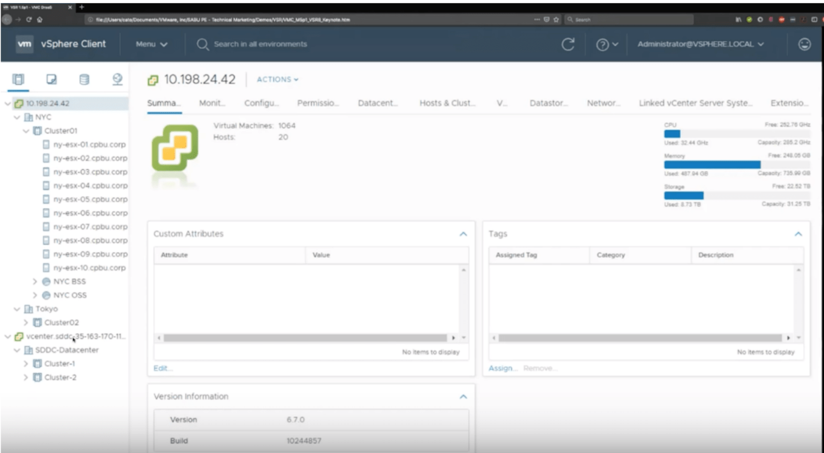 VMware-Cloud-on-AWS-for-Disaster-Recovery