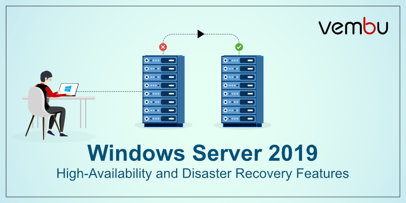 Windows Server 2019 High-Availability and Disaster Recovery