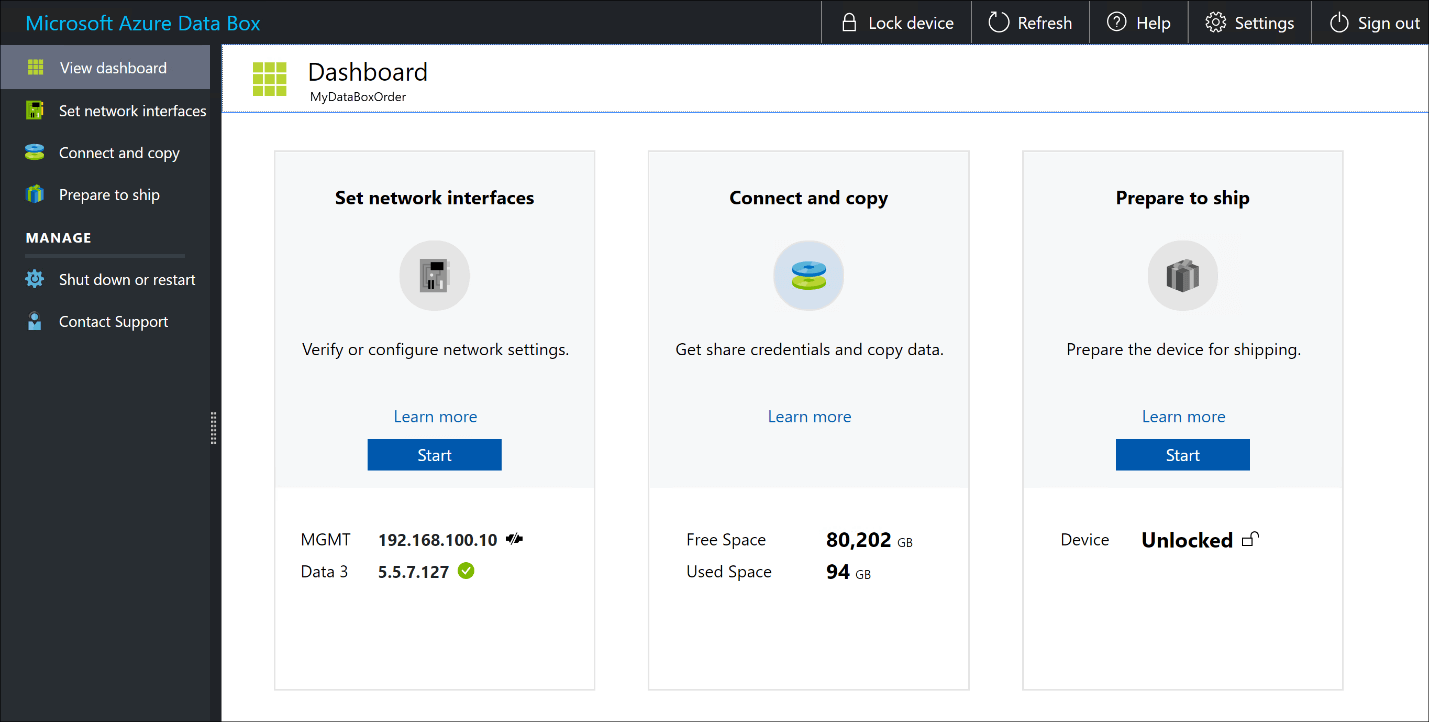 Microsoft Azure Data Box