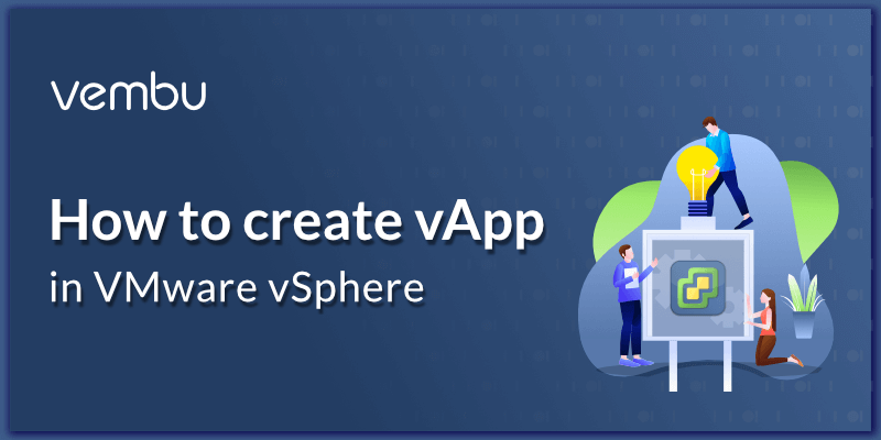 How to create vApp in 