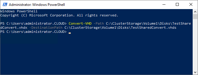 Create Guest Clusters with Hyper-V