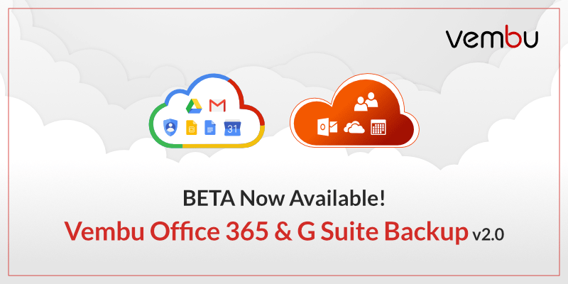 Vembu-office-365-and-g-suite-backup-beta