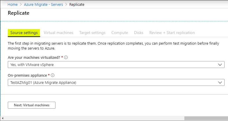 Migrating from VMware to Azure