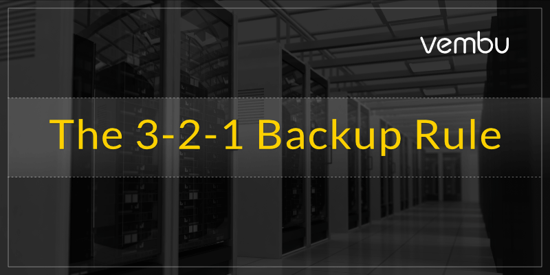 Backup Strategy- The 3-2-1 Backup Rule