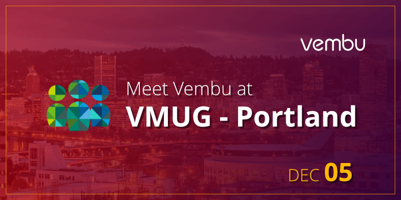 Meet Vembu at VMUG