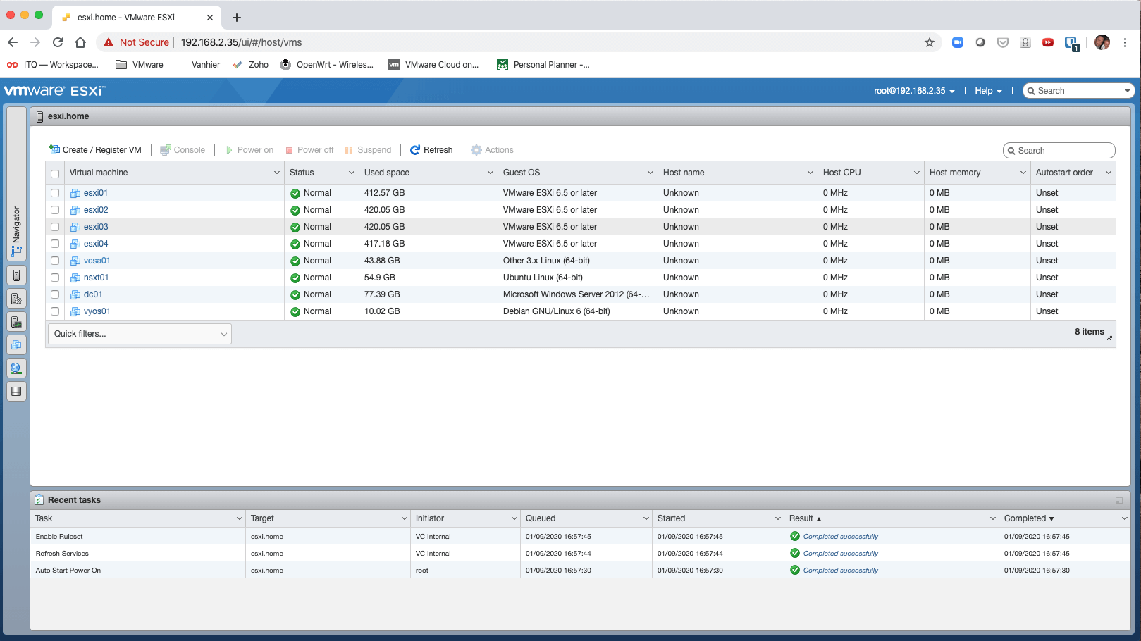 migrate VMs from VirtualBox to VMware